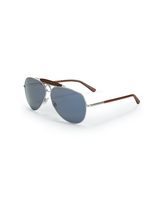 Pink Pony | Silver Nautical Pilot Sunglasses for Men | Lyst
