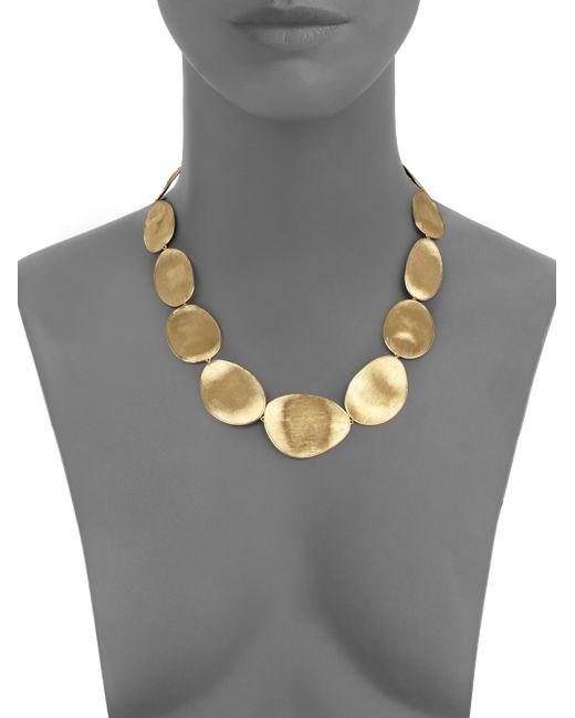 Marco Bicego | Metallic Lunaria 18k Yellow Gold Collar Necklace | Lyst