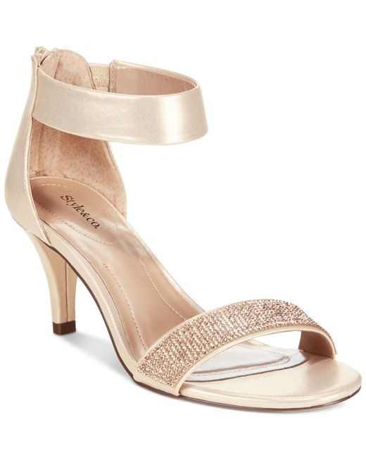 Style Amp Co Only At Macy S In Gold Rose Gold Sparkle Lyst