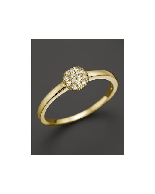Dana Rebecca | 14k Yellow Gold And Diamond Lauren Joy Mini Ring | Lyst