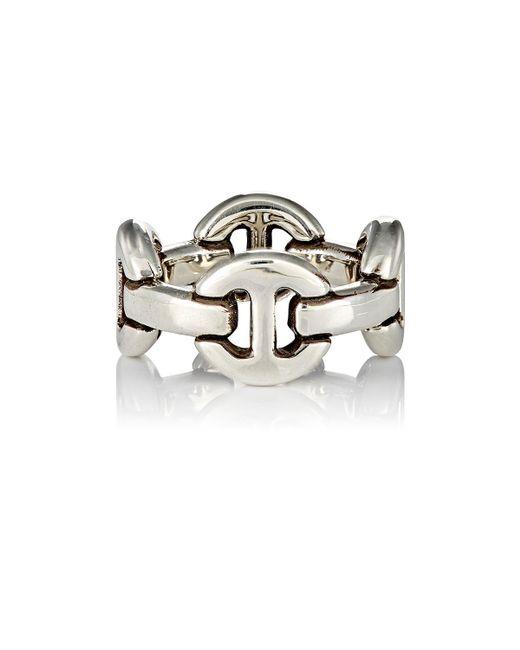 Hoorsenbuhs | Metallic Quad-link Ring for Men | Lyst