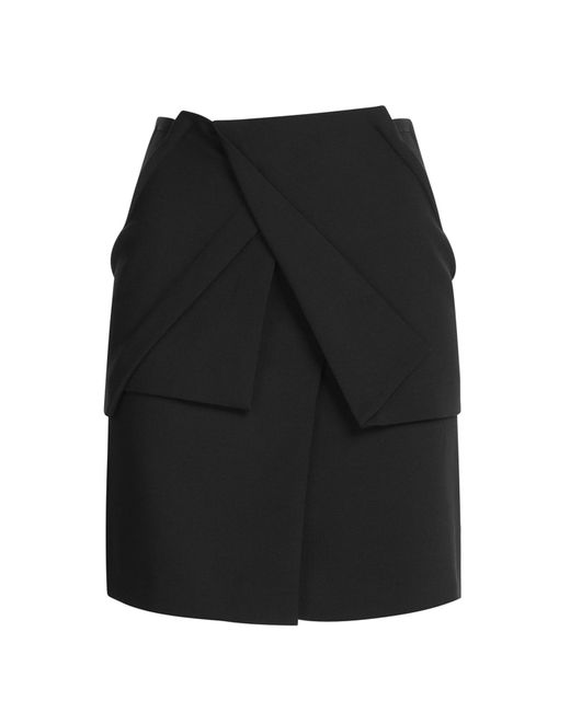 Roland Mouret | Natural Draped Wool-crepe | Lyst