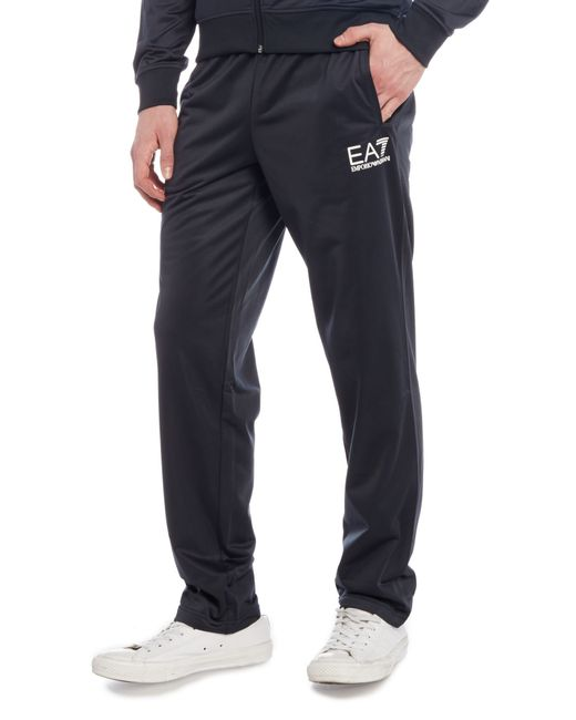 Ea7 Core Id Polyester Sweat Suit In Blue For Men (Navy)