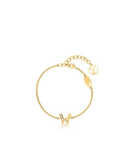 Louis Vuitton | Metallic Lv & Me Bracelet, Letter W | Lyst