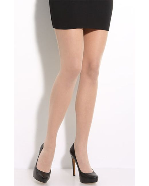 Wolford | Gray Sheer Pantyhose | Lyst