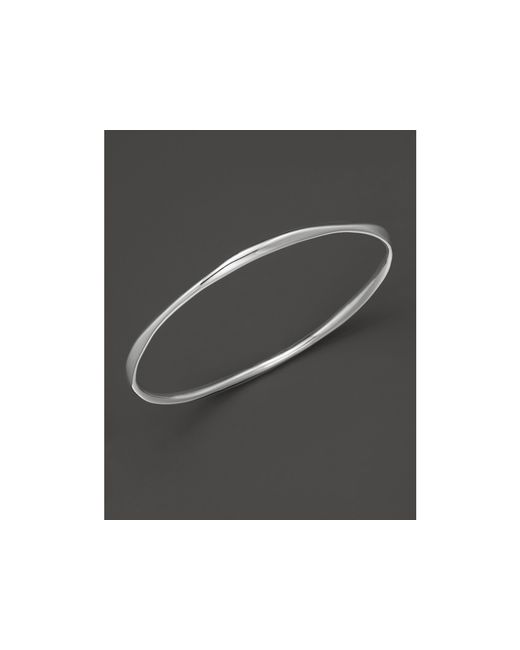 Ippolita | Metallic Sterling Silver Squiggle Bangle | Lyst