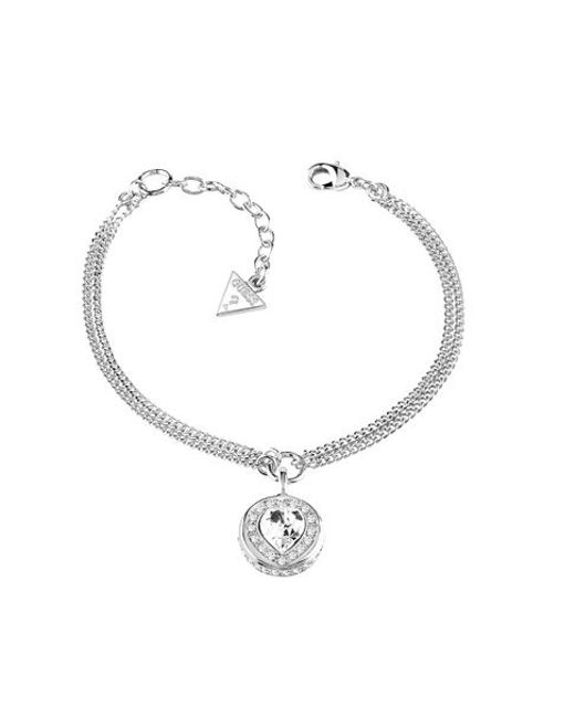 Guess | Metallic Coins Of Love Bracelet | Lyst