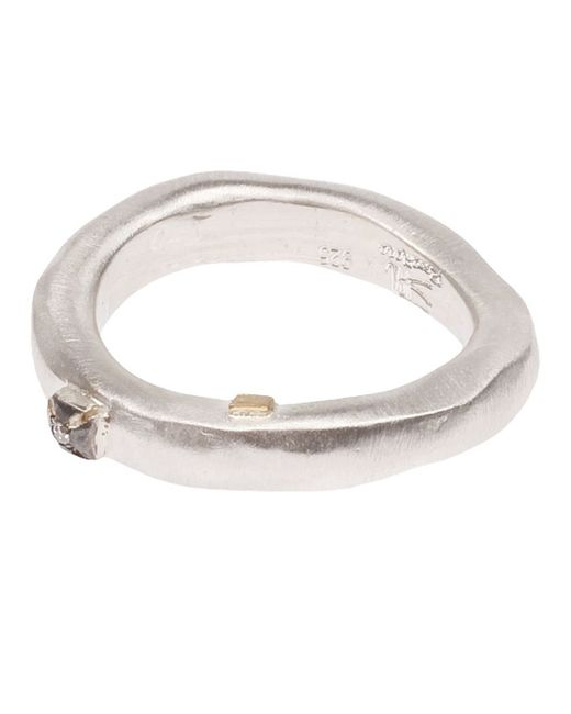 Rosa Maria | Metallic 'fay' Ring for Men | Lyst
