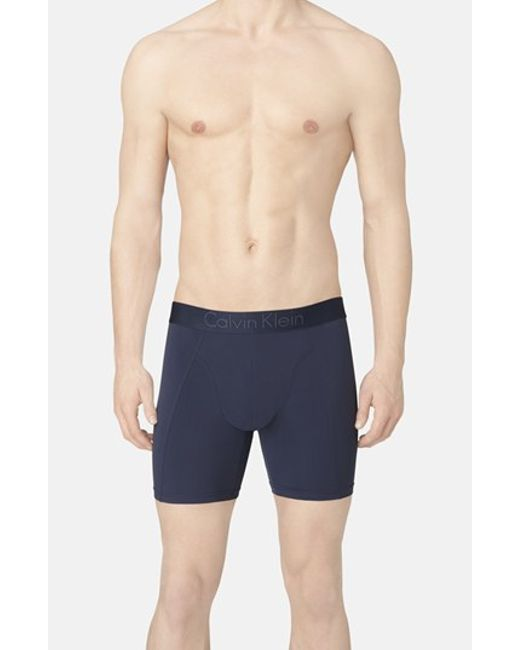 Calvin Klein | Blue Stretch Boxer Briefs for Men | Lyst
