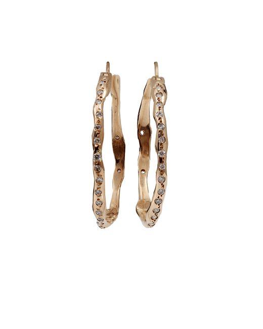 Lucifer Vir Honestus | Pink Medium Organic Hoop Earrings | Lyst