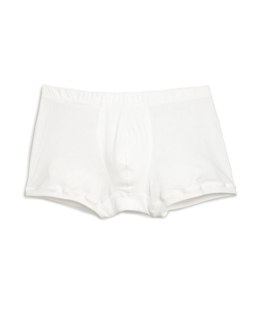 Hanro | White Cotton Boxer Briefs for Men | Lyst