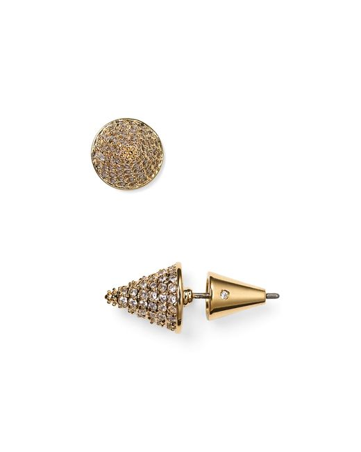 Eddie Borgo | Metallic Pave Cone Stud Earrings | Lyst