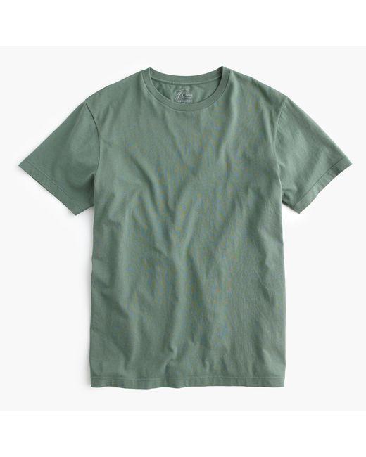J.Crew | Green Broken-in T-shirt for Men | Lyst