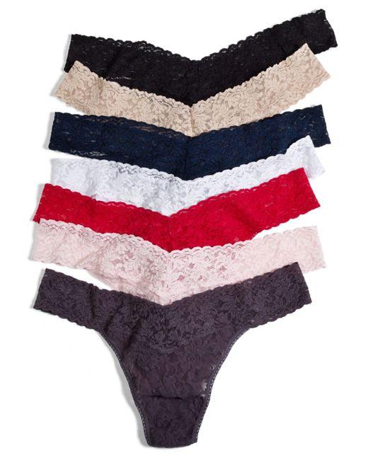 Hanky Panky | Multicolor Signature Lace Plus Size Original Rise Thong 4811x | Lyst