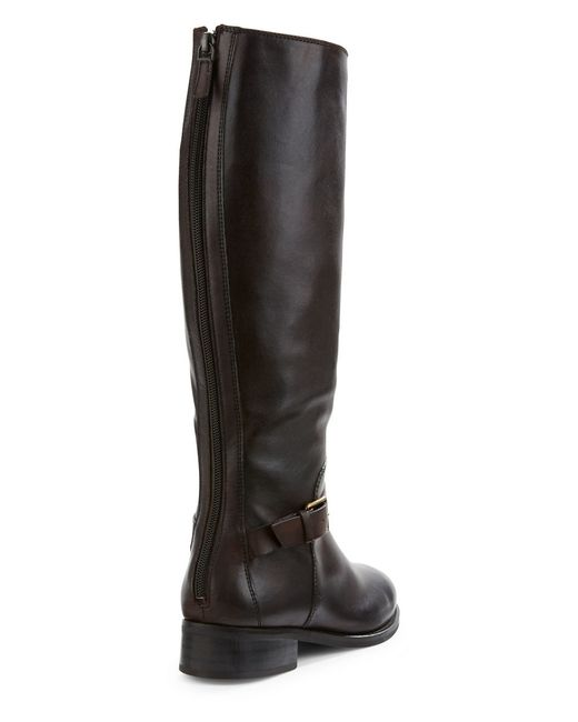 cole haan sonna leather knee high boots in brown save 47