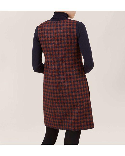 Hobbs | Blue Cork Dress | Lyst