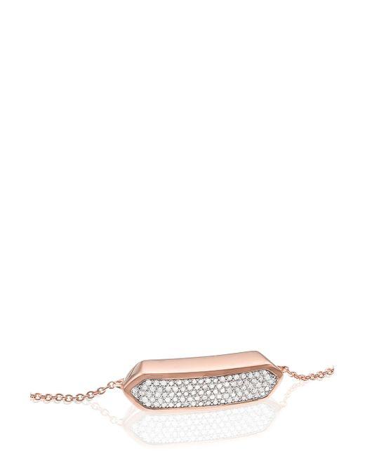 Monica Vinader | Metallic Diamond Baja Bracelet - Adjustable | Lyst