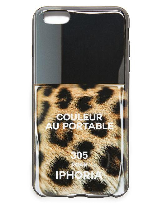 iphoria roar iphone 6 plus 6s plus case in black. Black Bedroom Furniture Sets. Home Design Ideas