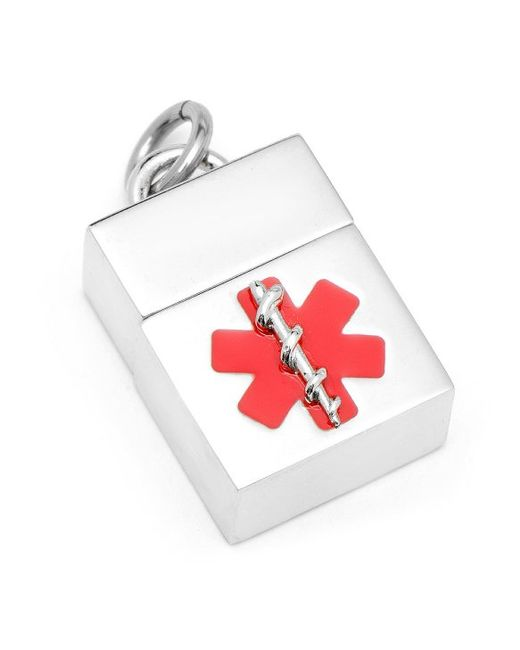 Ravi Ratan | Red 4gb Silver Medical Usb Pendant for Men | Lyst