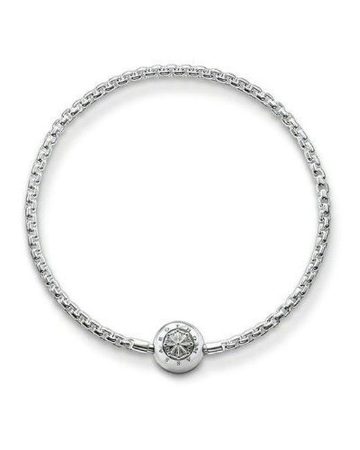 Thomas Sabo | Metallic Karma Beads Bracelet | Lyst