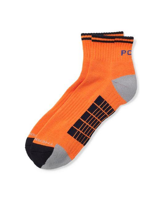 Pink Pony | Orange Sporty Ankle Socks for Men | Lyst