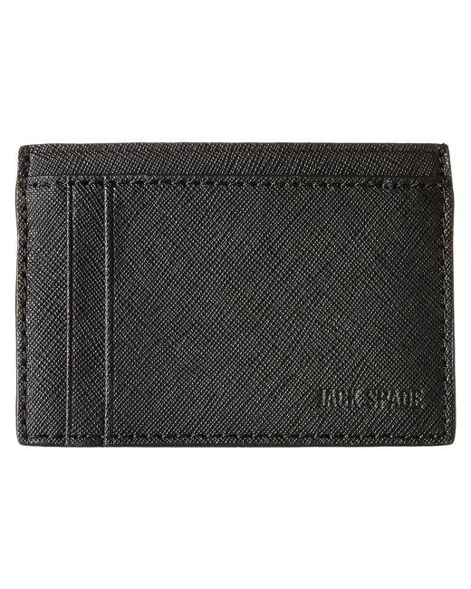 Jack Spade | Black Barrow Leather Id Wallet for Men | Lyst