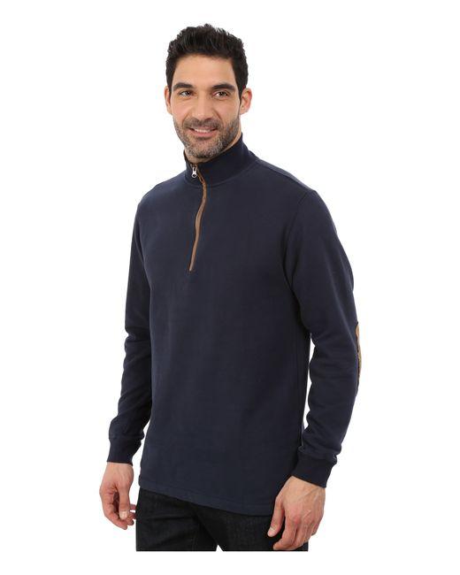 Woolrich   Blue Boysen Half Zip for Men   Lyst