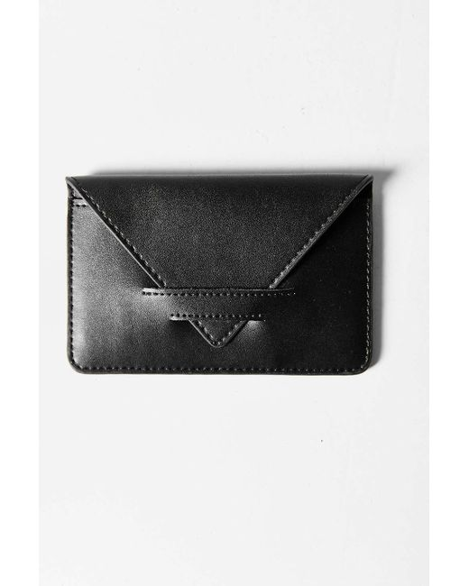 Urban Outfitters | Black Simple Cardholder Wallet | Lyst