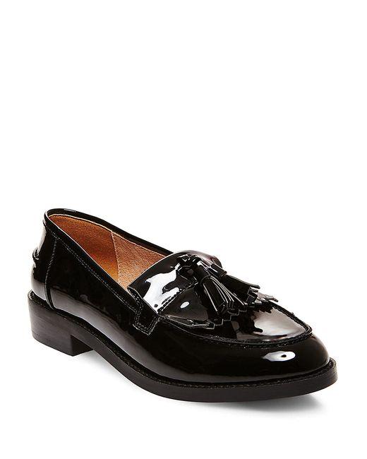 Steve Madden | Black Meela Tassel Loafers | Lyst