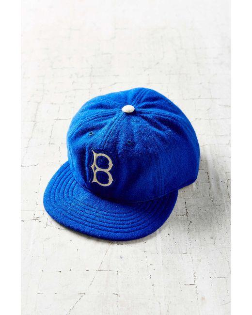 American Needle | Blue Stateman Wool Baseball Hat | Lyst