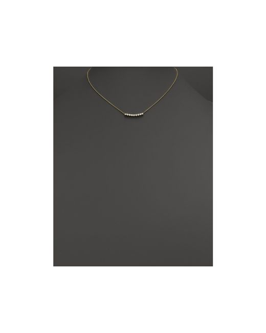 Zoe Chicco | Metallic 14k Gold & Bezel Set Diamond Necklace, 16"