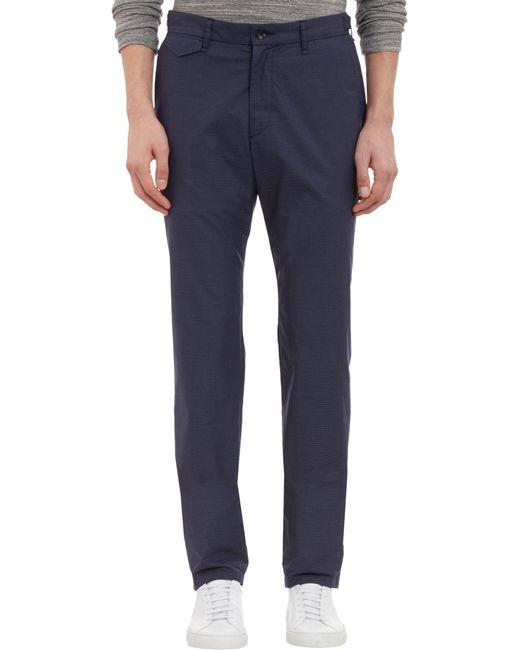 Rag & Bone | Blue Microdot Pants for Men | Lyst