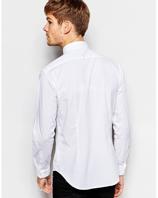 Esprit Shirt With Button Down Collar In Regular Fit In