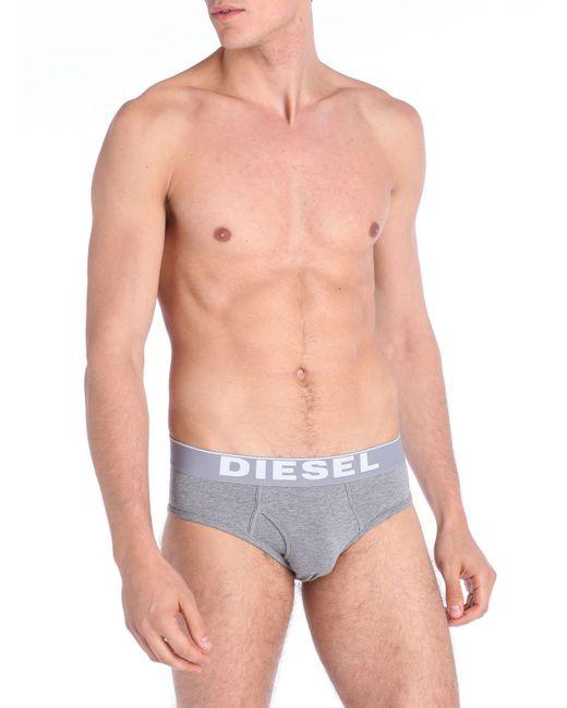 DIESEL | Gray Umbr-blade for Men | Lyst