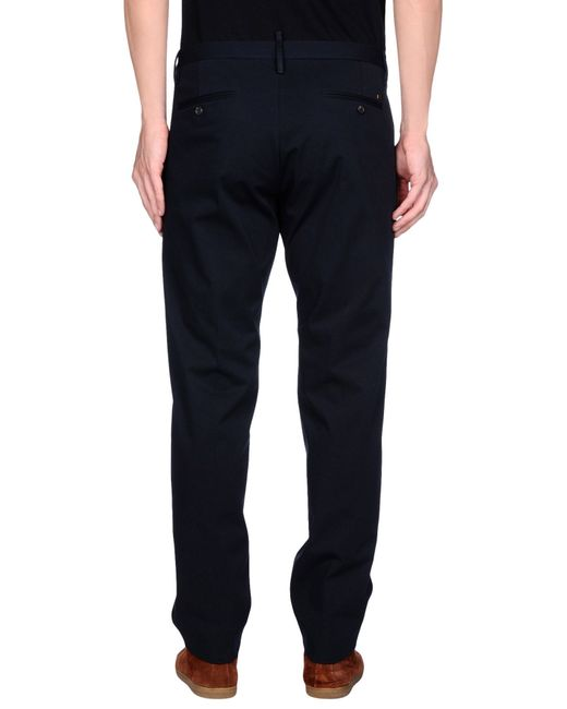 DSquared² | Black Casual Pants for Men | Lyst