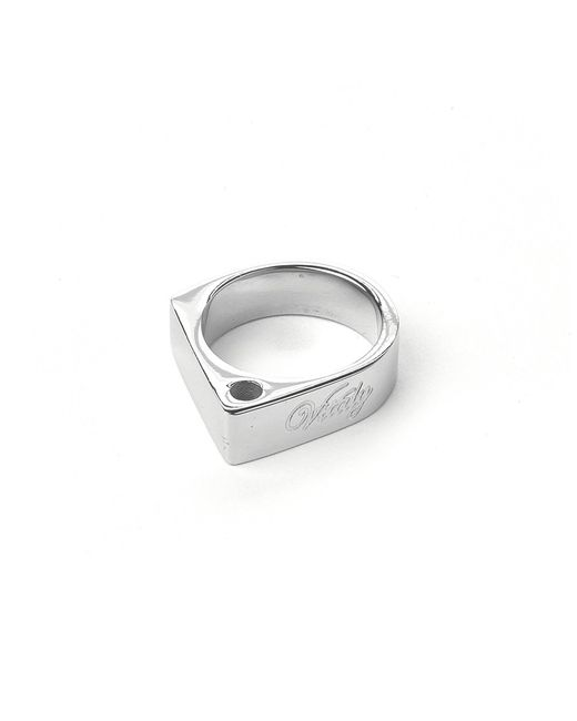 Vitaly | Metallic Sua X Stainless Steel Silver Ring for Men | Lyst