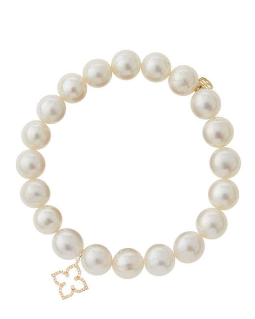 Sydney Evan | White Design Your Own Bracelet (made To Order) | Lyst