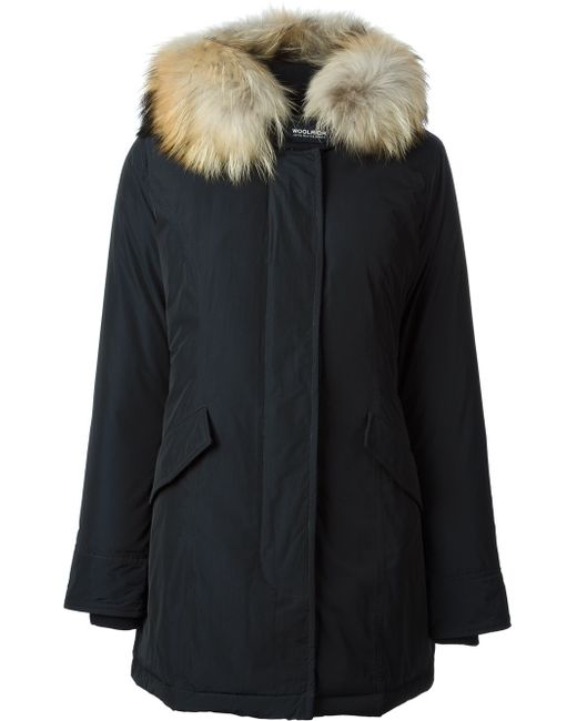 woolrich blue luxury arctic parka in blue lyst. Black Bedroom Furniture Sets. Home Design Ideas