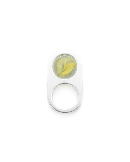 Maison Margiela | Metallic Marble Ring | Lyst
