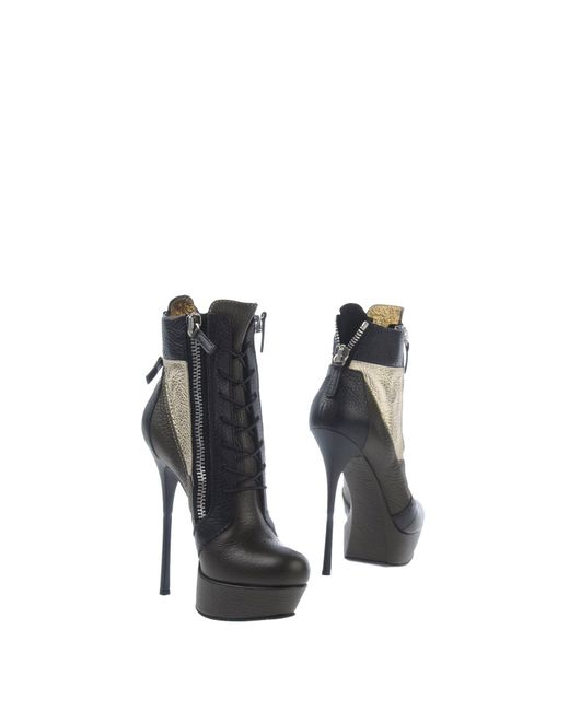 Gianmarco Lorenzi | Green Ankle Boots | Lyst