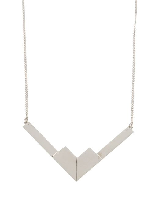 The Medley Institute | Metallic V1105 Necklace | Lyst