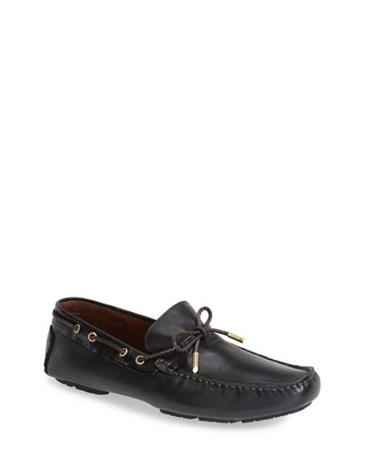 Bacco Bucci | Black 'istria' Driving Loafer for Men | Lyst