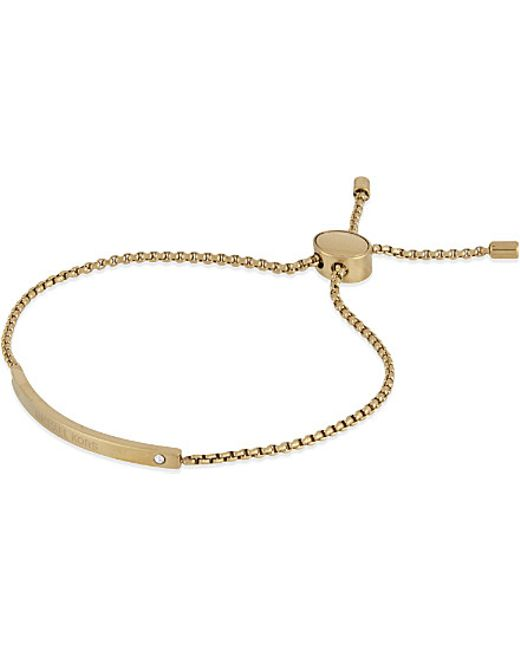Michael Kors   Metallic Etched Logo Slider Bracelet   Lyst