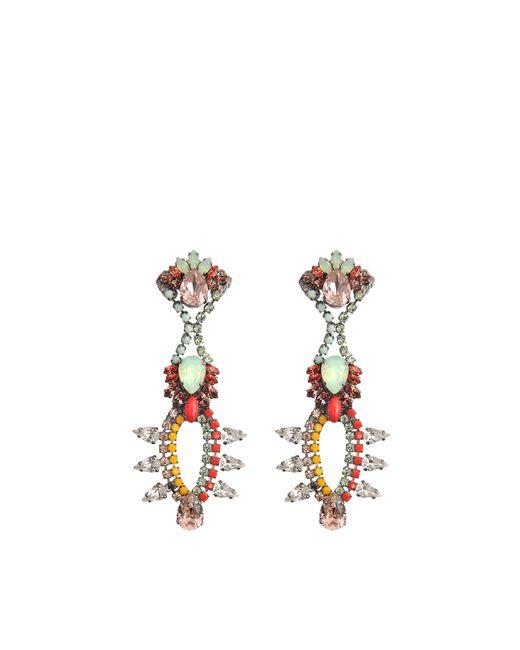 Anton Heunis | Multicolor Katrina Chandelier Crystal Earrings | Lyst