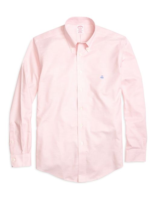 Brooks Brothers | Pink Non-iron Brookscool® Madison Fit Sport Shirt for Men | Lyst