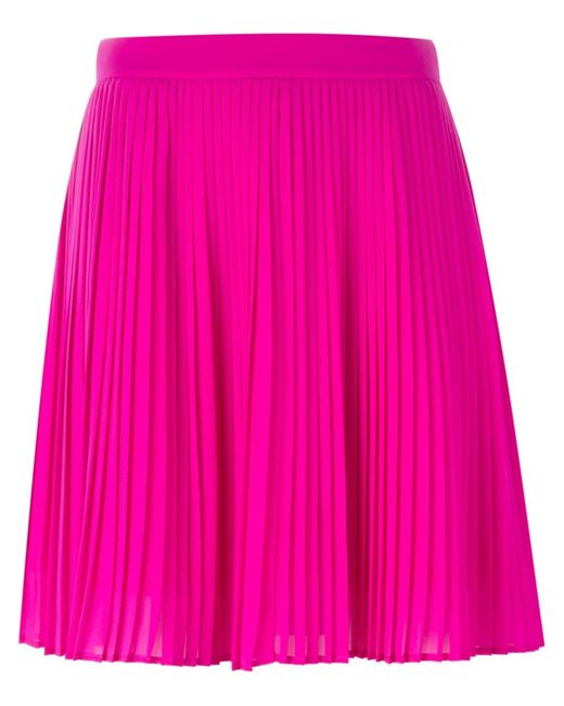 KENZO | Pink Pleated Skirt | Lyst