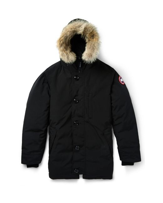 Canada Goose | Black Down Chateau Parka for Men | Lyst