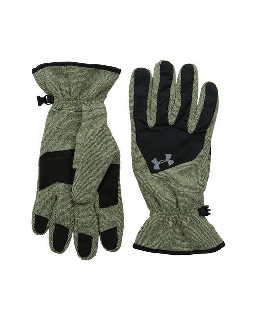 Under Armour | Green Ua Survival Fleece Glove for Men | Lyst