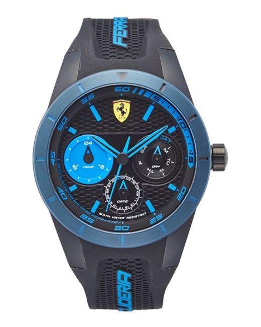 Blue Ferrari Watches