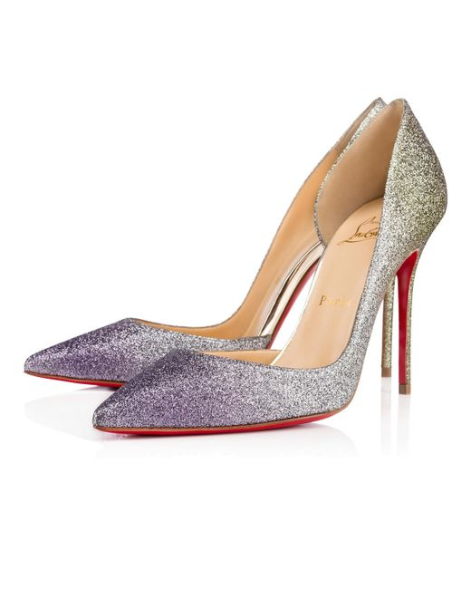 christian louboutin imitation shoes - christian louboutin iriza half d'orsay glitter pump, mens red ...